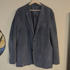 Hugo Boss Blue Cordorouy Blazer Men's 42R